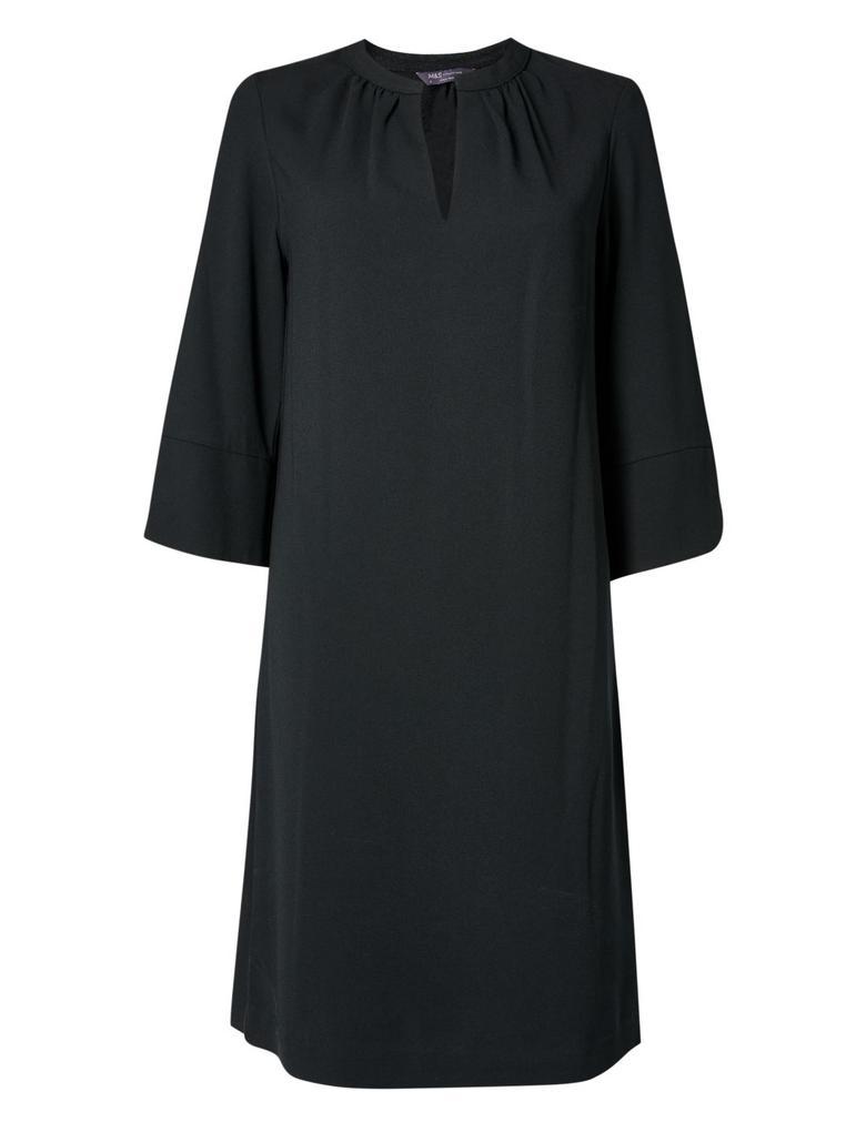 Kadın Siyah Shift Elbise