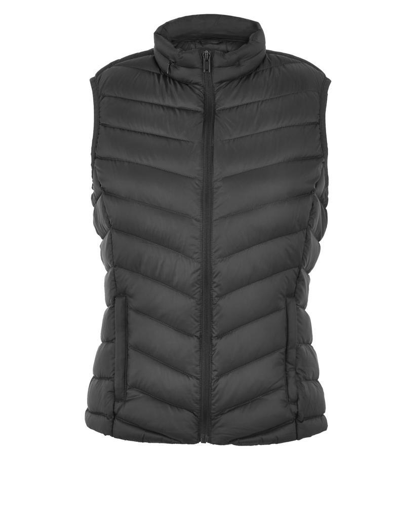 Kadın Siyah Stormwear™ Puffa Yelek