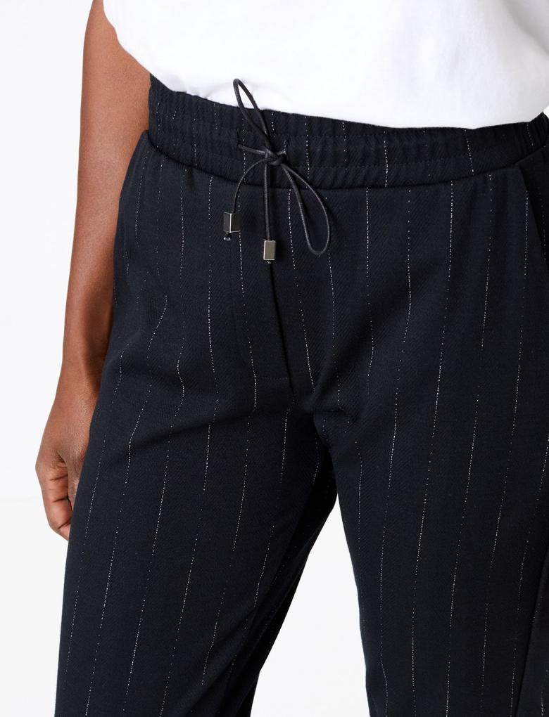 Balıksırtı Desenli Pantolon