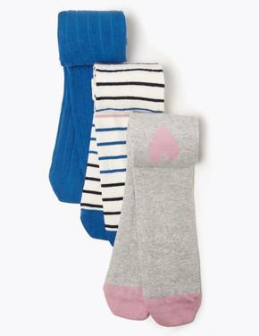 3'lü Diz Hizasında Çorap Seti
