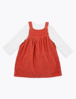 3'lü Kadife Elbise Takımı