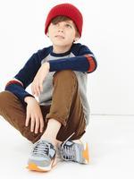 Erkek Çocuk Multi Renk Raglan Kollu Sweatshirt