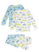 2'li Desenli Pijama Takımı