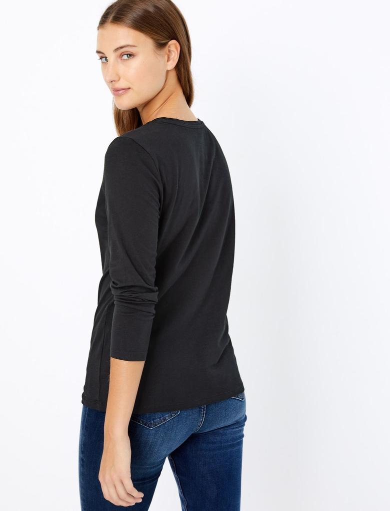 Saf Pamuk T-Shirt