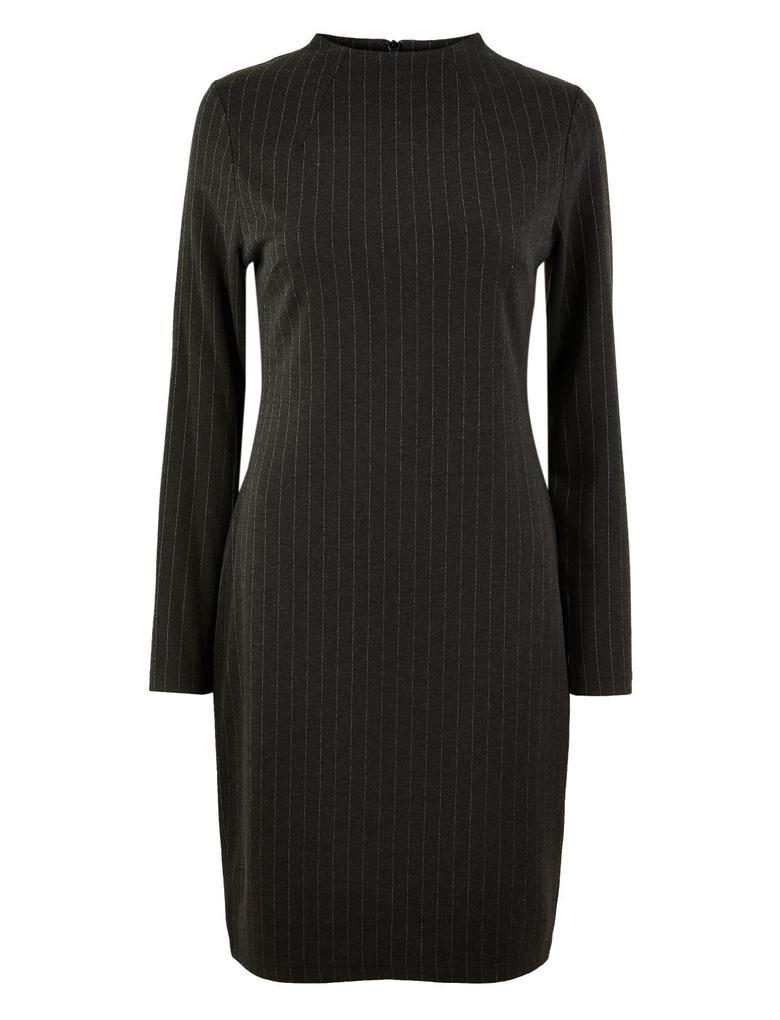 Çizgili Shift Elbise
