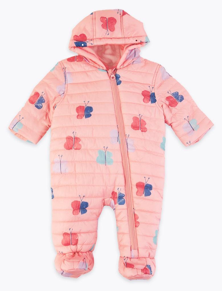 Bebek Multi Renk Stormwear™ Kelebekli Tulum