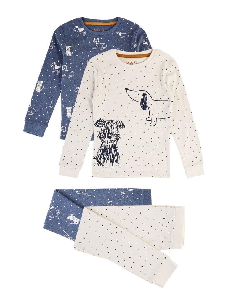 2'li Pamuklu Pijama Seti
