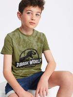 Jurassic World Karanlıkta Parlayan Kısa Kollu T-Shirt