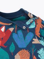 Bebek Multi Renk Desenli Sweatshirt