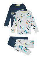 Çocuk Lacivert 2'li Pijama Seti