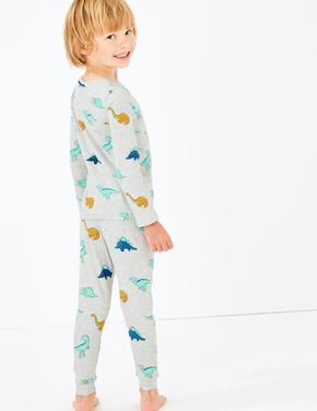 Dreamskin® Dinozor Desenli  Pijama Takımı