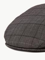 Erkek Gri Ekose Şapka