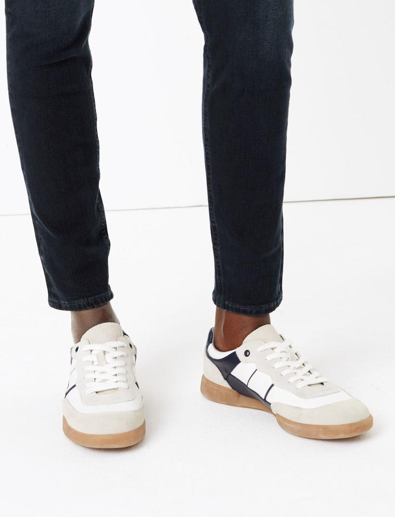 Kadın Mavi Şekillendirici Yüksek Bel Skinny Jean Pantolon