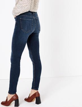 Şekillendirici Yüksek Bel Skinny Jean Pantolon