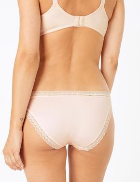 5'li Desenli Bikini Külot Seti