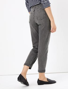 Relaxed Slim Leg Jean Pantolon
