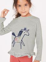 Çizgili Unicorn Desenli Alt Üst Takım