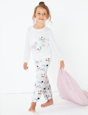 Unicorn Desenli Pijama Takımı
