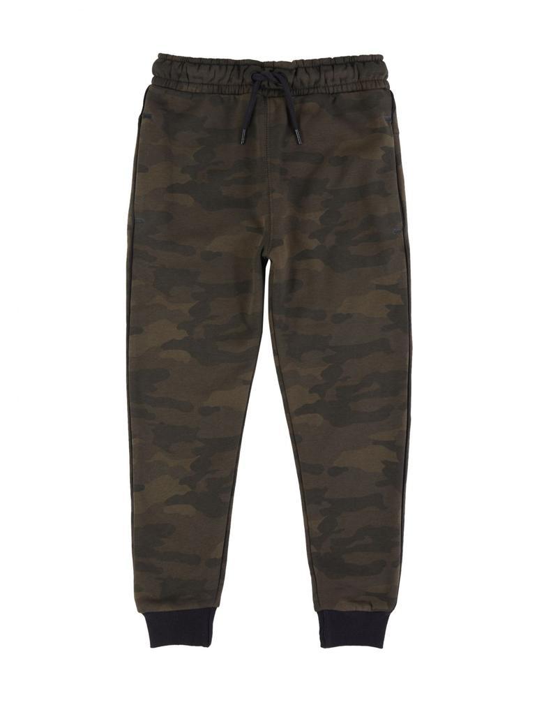 Erkek Çocuk Multi Renk Kamuflaj Desenli Jogger Pantolon