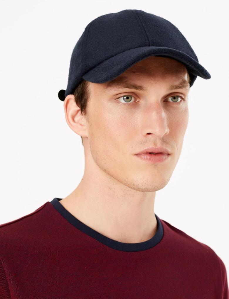 Yünlü Beyzbol Şapkası