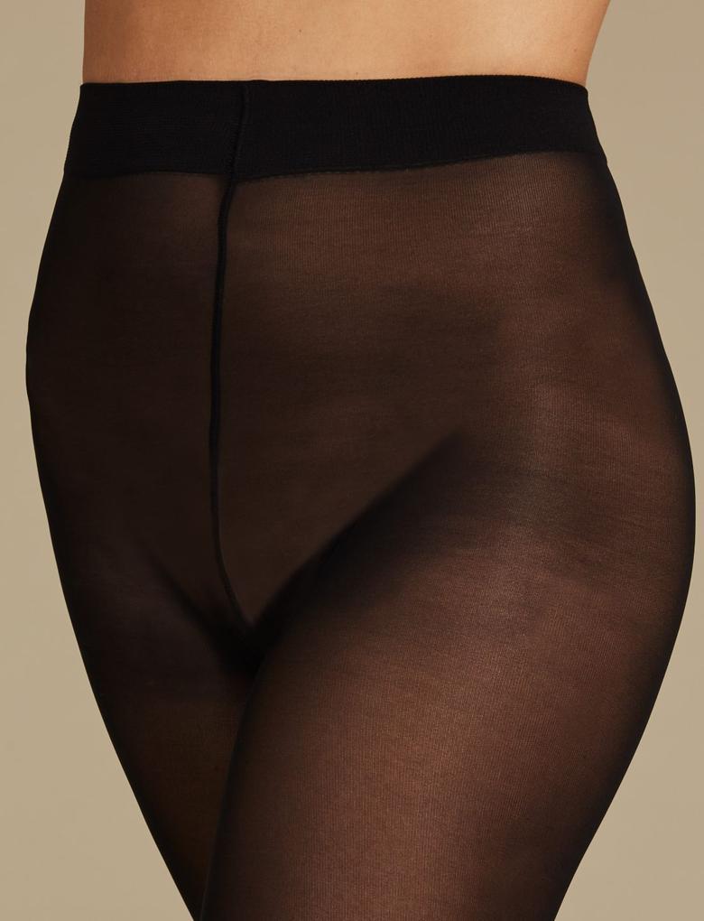 Kadın Siyah 3'lü Sensor™ 30 Denye Külotlu Çorap