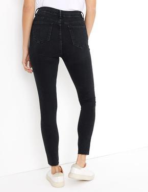 Paçaları Dikişsiz Skinny Jean Pantolon