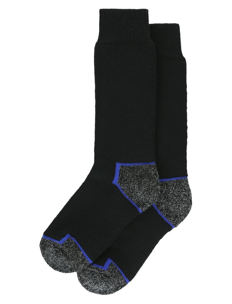 Erkek Siyah 2'li  Freshfeet™ Kalın Kumaşlı Çorap Seti