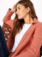 Kadın Kahverengi Fitilli Uzun Hırka