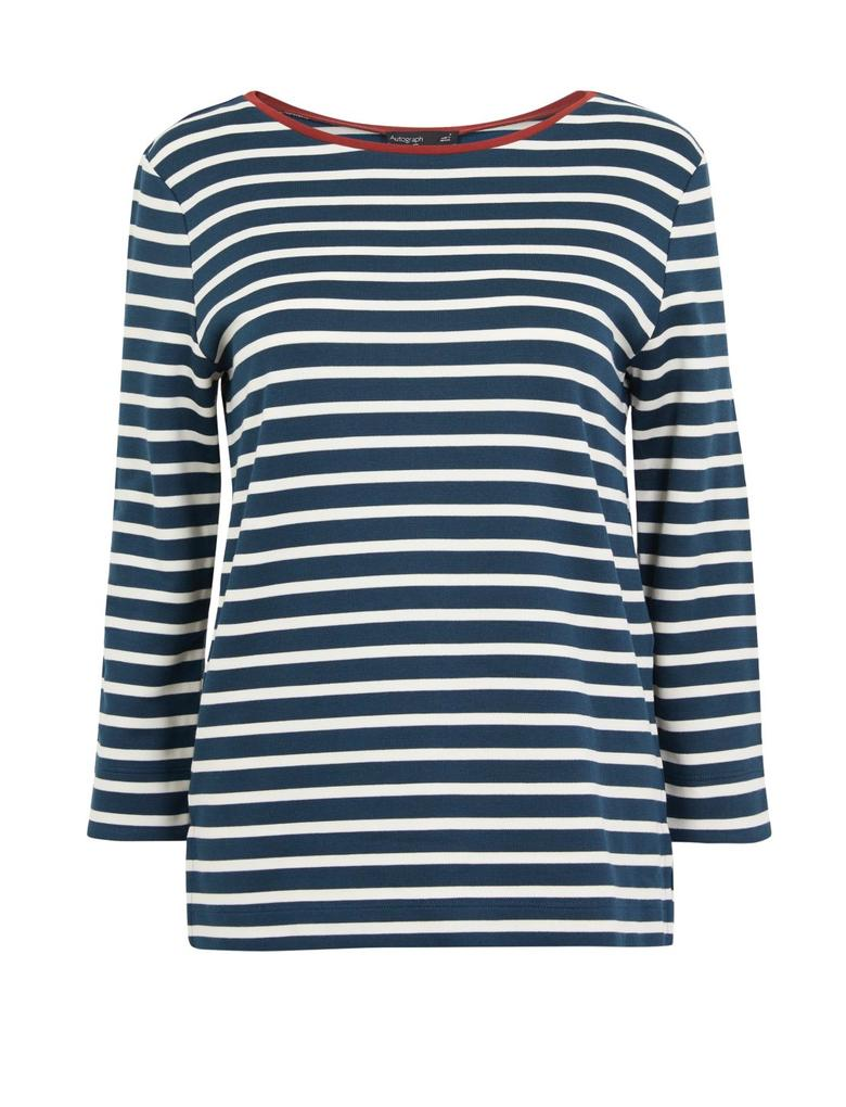 Çizgili Regular Fit T-shirt
