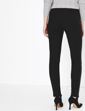 Yüksek Belli Skinny Jean Pantolon