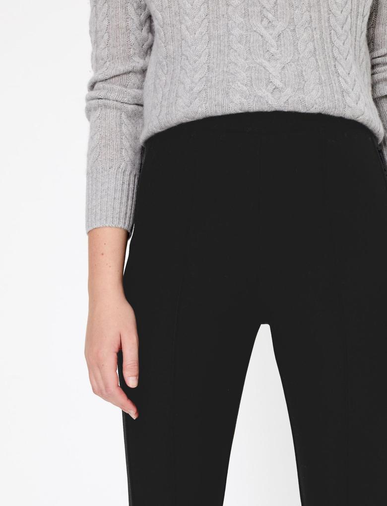Kadın Siyah Yüksek Belli Skinny Jean Pantolon