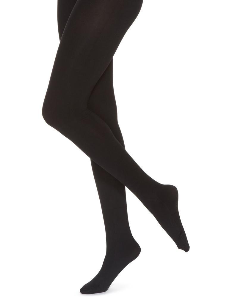 100 Denye Kadife Dokulu Opak Külotlu Çorap