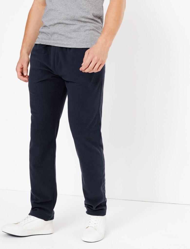 Lacivert Polar Jogger Pantolon