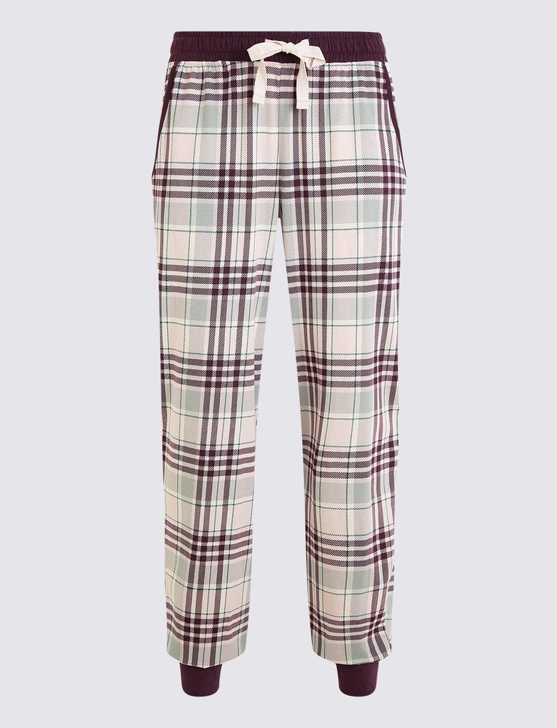Kadın Pembe Pijama Takımı