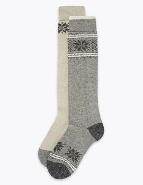 2'li Termal Uzun Çorap Seti