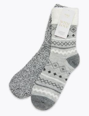 2'li Yumuşak Çorap Seti