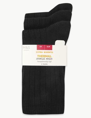 3'lü Termal Ankle Çorap Seti
