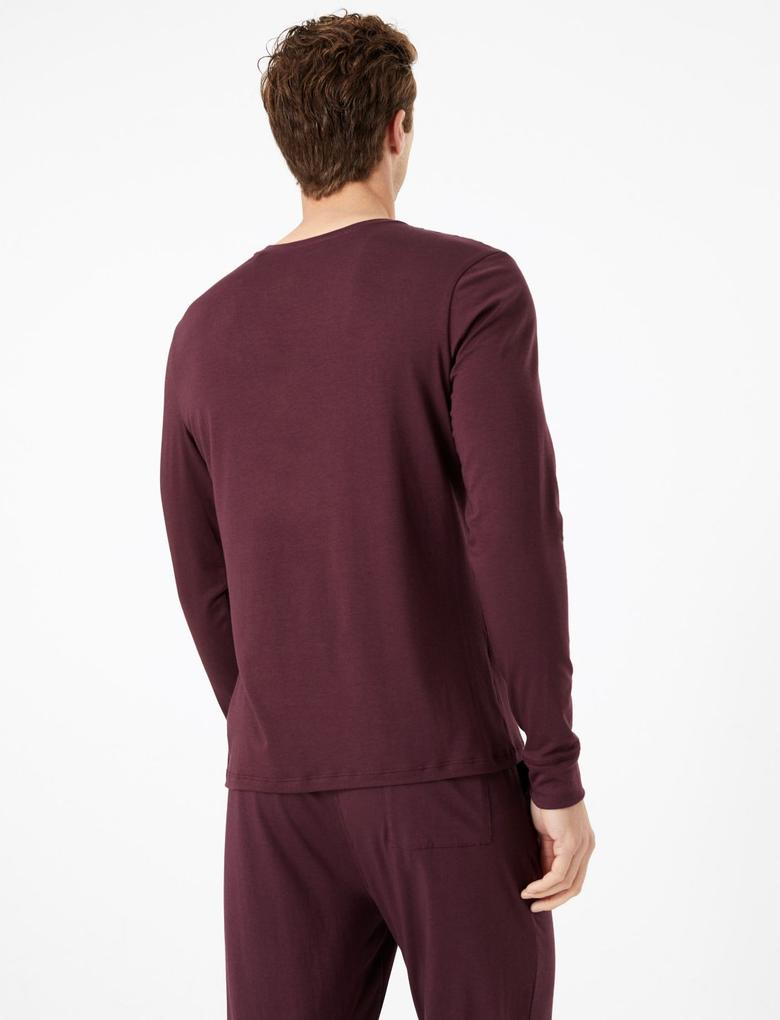 Flexifit™ Pamuklu Pijama Üstü