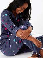 Polar Yıldız Desenli Pijama Takımı