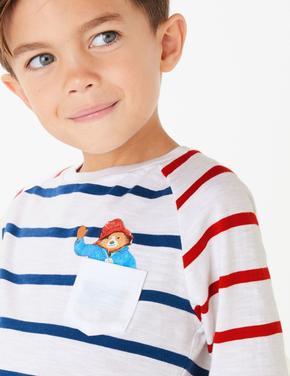 Paddington™ Çizgili Uzun Kollu T-Shirt