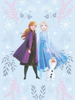 Disney Frozen™ Desenli Çift Taraflı Nevresim Takımı