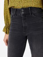 Yüksek Belli Straight Fit Jean Pantolon