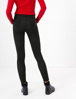 Kadife Skinny Pantolon