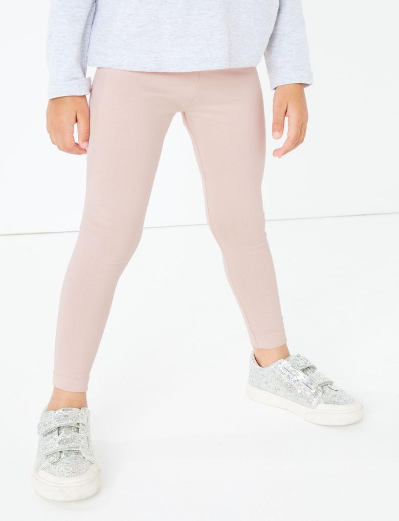 Kız Çocuk Multi Renk 3'lü Tayt Seti