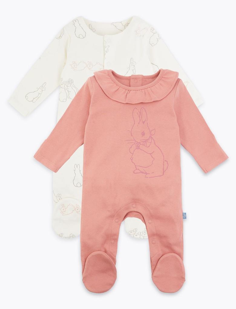 Bebek Multi Renk 2'li Peter Rabbit™ Tulum Seti