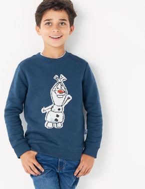Multi Renk Disney Frozen™ Olaf Sweatshirt