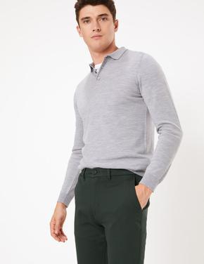 İtalyan Slim Fit Chino Pantolon