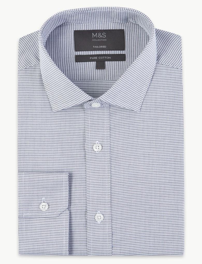 Kolay Ütülenir Tailored Fit Gömlek