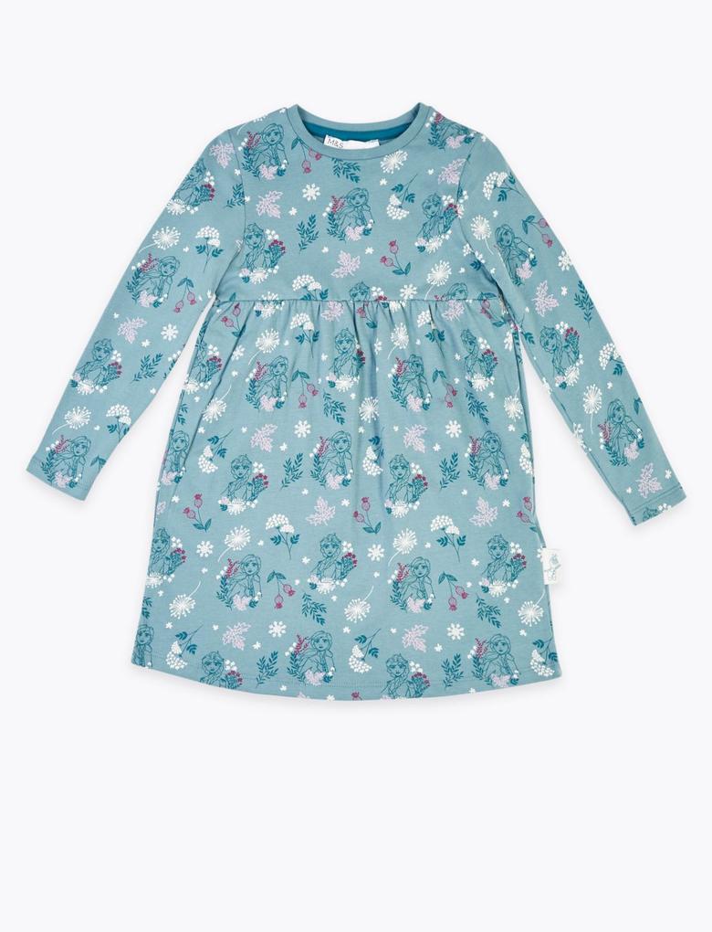 Disney Frozen™ Desenli Elbise