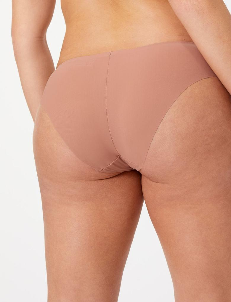 Kadın Kahverengi Body™ Brazilian Külot